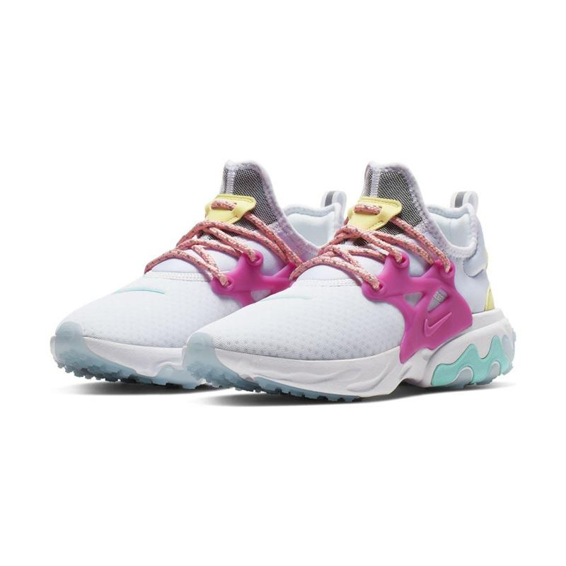 clearance prices new style retail prices Jual NIKE React Presto Women's Shoes - White Purple [CD9015-101 ...