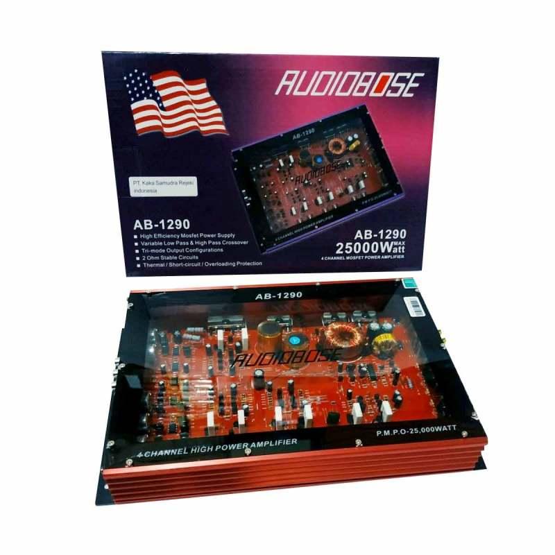 Jual Audiobose Ab 1290 Transparan Amplifier Mobil 4 Ch Online Februari 2021 Blibli