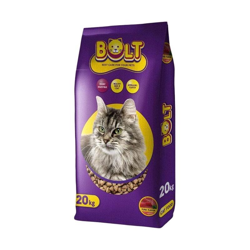 Jual Makanan Kucing Bolt Tuna Ikan 20kg Murah Maret 2020 Blibli Com