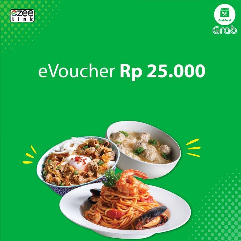 Ezeelink Grab Food E-Voucher [Rp25.000]