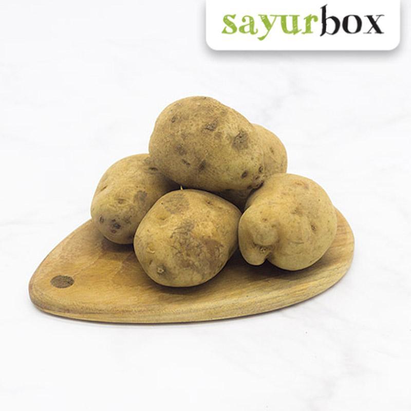 harga Sayurbox Kentang Dieng Conventional Sayuran [500 g] (Jakarta) Blibli.com