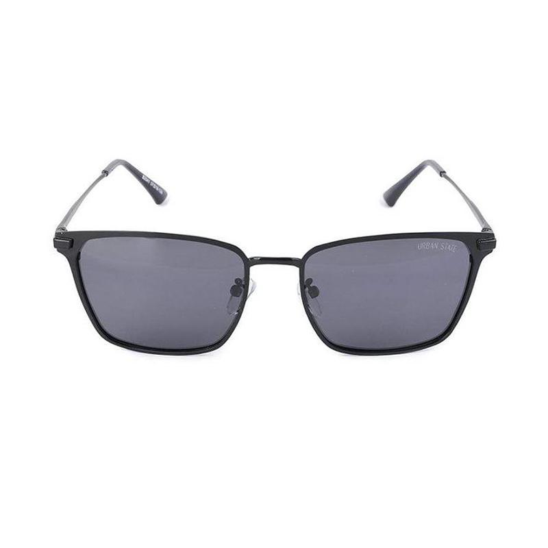 Urban State Polarized Edge Bar Vintage Square Sunglasses Kacamnata Pria