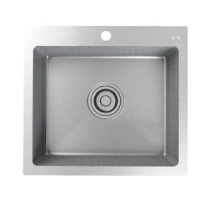 Jual Aer Ks1 02 Stainless Steel Kitchen Sink Tempat Cuci Piring Online November 2020 Blibli Com