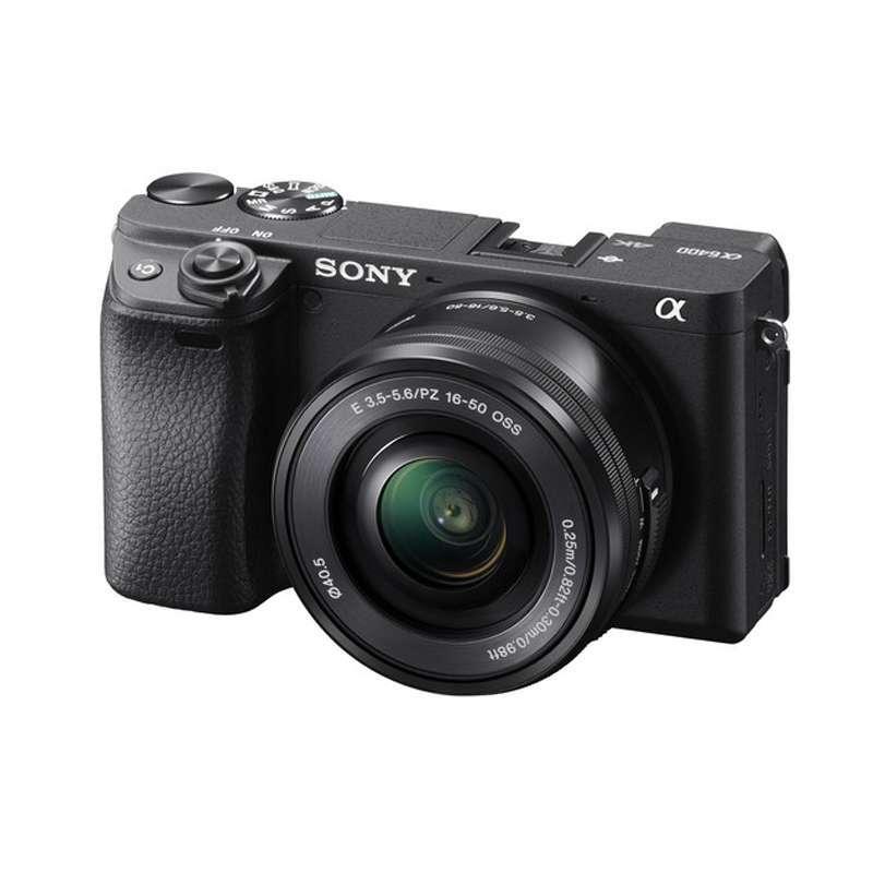 DOSS Sony Alpha A6400 Kit 16 50mm Kamera Mirrorless GARANSI RESMI