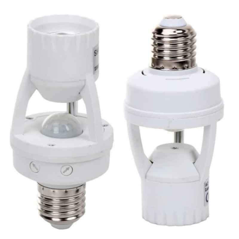 Jual Fitting Lampu Led E27 Dengan Sensor Gerak Infrared Pir 110 240v Murah Mei 2021 Blibli