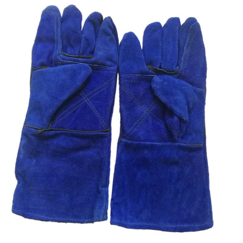 Jual Welding Gloves Heat Resistant 14 Bbq Oven Mig Tig Welder Welder Gauntlets Online September 2020 Blibli Com