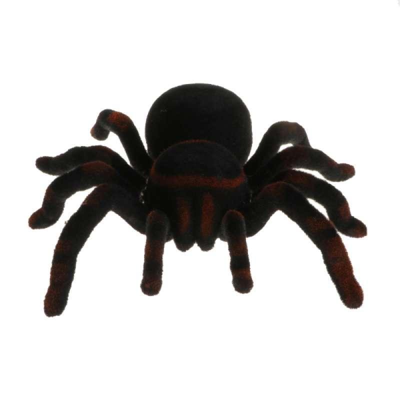 Tarantula Stuffed Animal, Jual Remote Control Creepy Soft Plush Spider Infrared Rc Tarantula Prank Bug Toy Online November 2020 Blibli