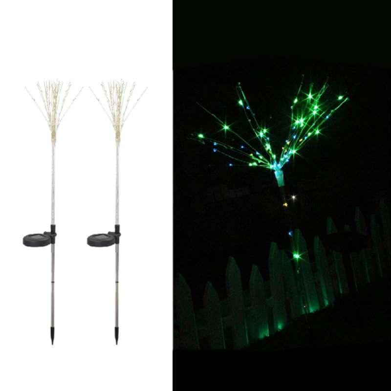 Jual Set Of 2 Firework Diy String Light Solar Xmas Wedding Party Fairy Lights New Online Desember 2020 Blibli