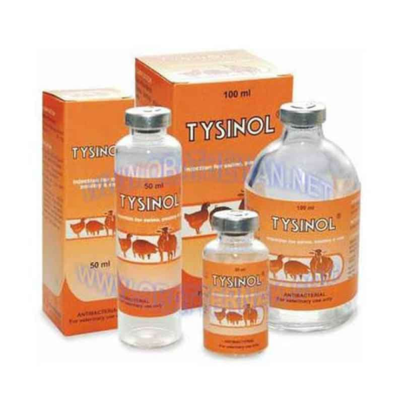 Antibiotik Hewan Ternak Tysinol 50 ml Medion