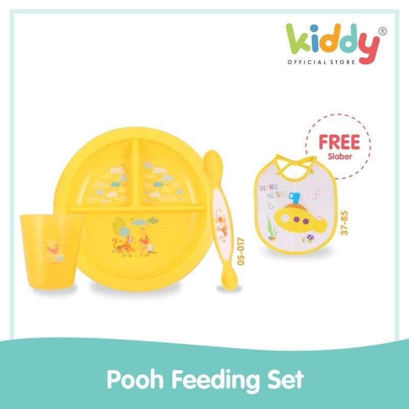 Kiddy Pooh Feeding Set Wtp 05017
