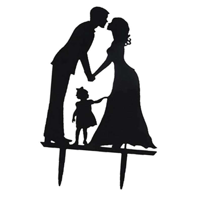 Jual 10pcs Wedding Cake Toppers Acrylic Bride Groom Model Cake Decorations Online Mei 2021 Blibli