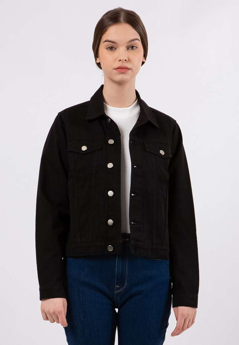 The Executive Long Sleeves Twill Jacket 5 JKWKEY120E033 Black