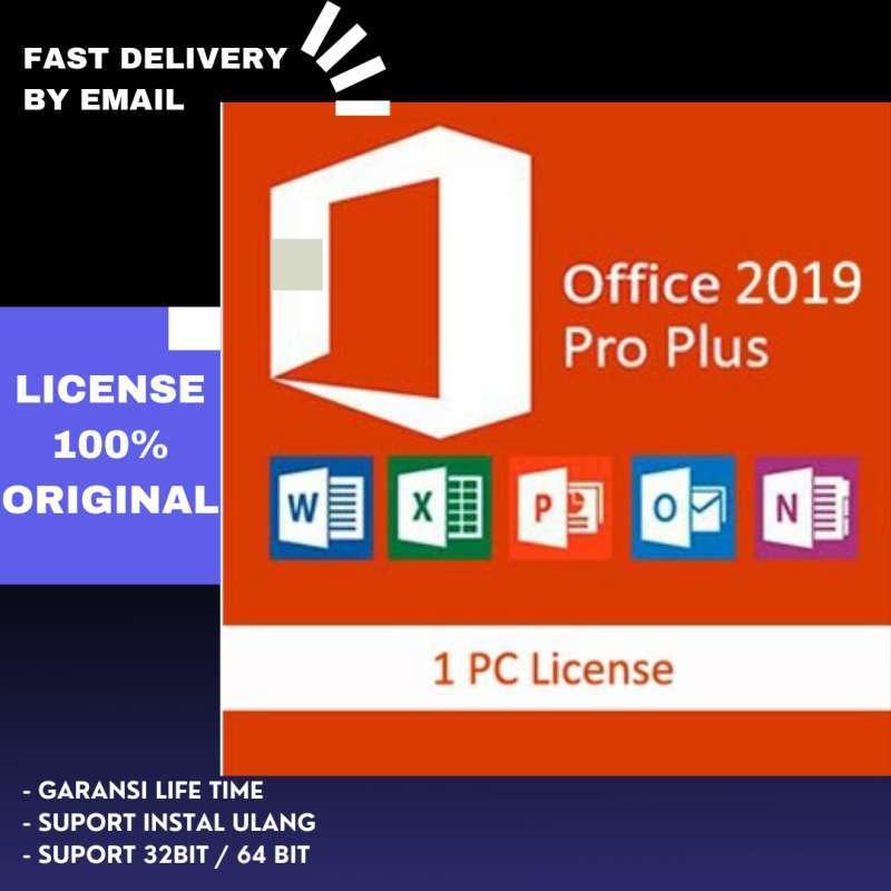 Jual License Original Aktifasi Key Microsoft Office 2019 Pro Plus Online Januari 2021 Blibli