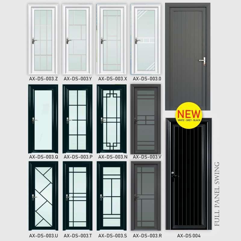 Jual Pintu Aluminium Kaca Pattern 80 X 210 Cm Architrave Online Februari 2021 Blibli