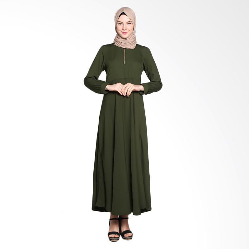 Allev 808.ARM.RSH Rasikha Dress Muslim - Army