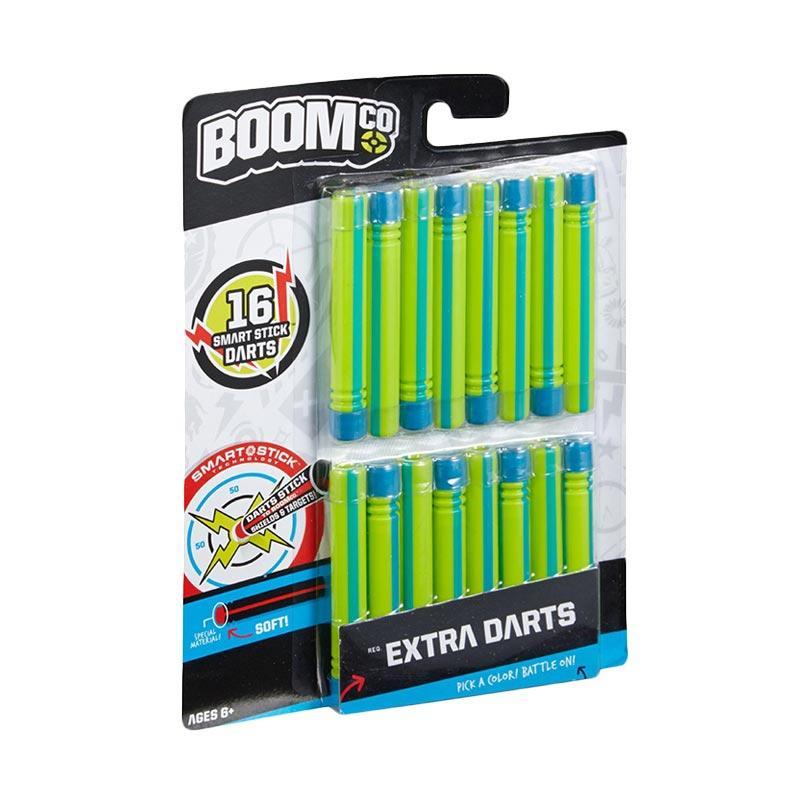 harga BOOMco BGY59 Extra Darts Mainan Anak - Green and Blue [16 pcs] Blibli.com