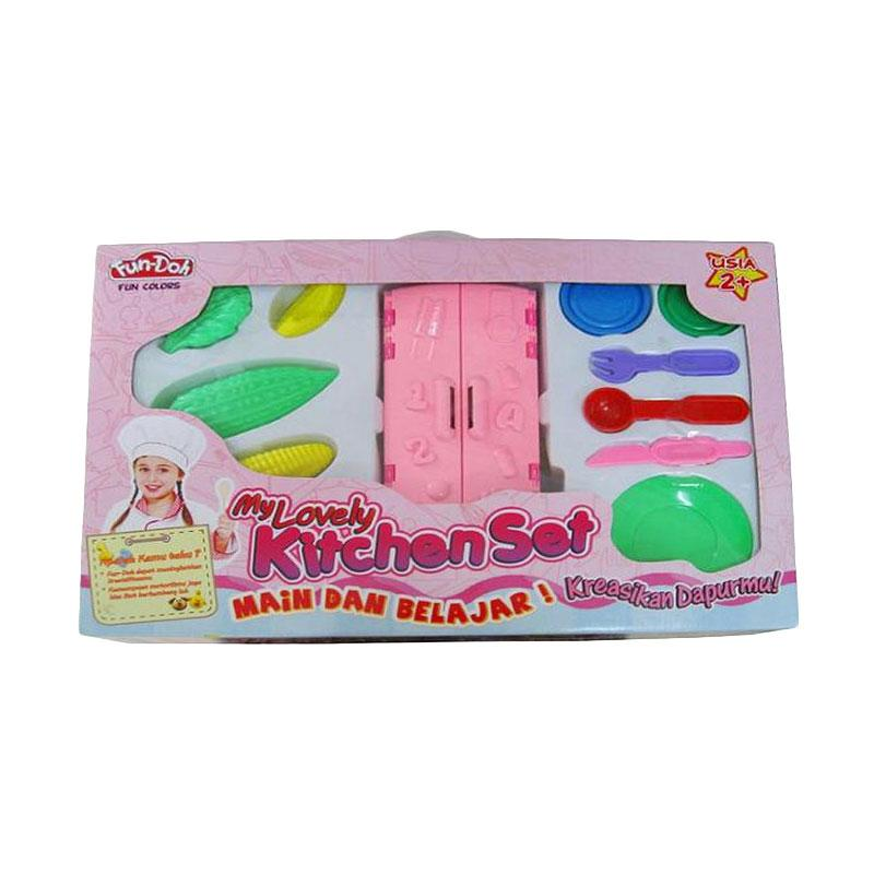 Fun Doh My Lovely Kitchen Set Mainan Anak