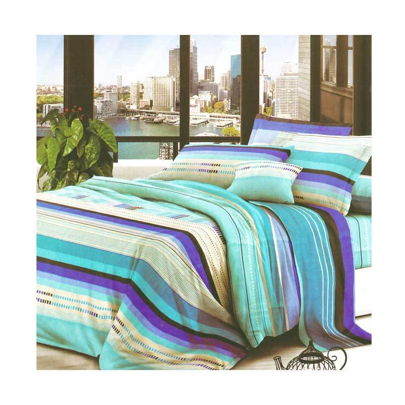 Hanna Microtex 20502 Colorfull Set Sprei [180 x 200 cm]
