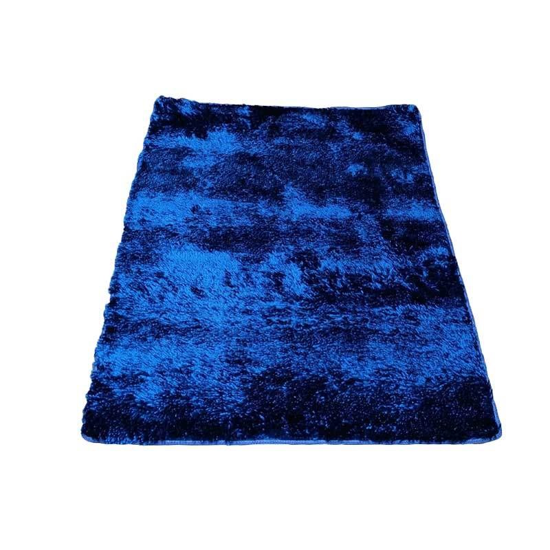 Tren-D-rugs - Karpet Cendol Mengkilat - Biru [100 x 150 cm]