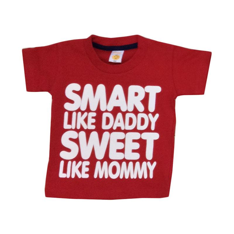 Pleu Smart Sweet T-shirt Anak Laki-laki - Red