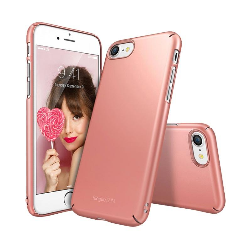 Rearth Ringke Slim Casing for iPhone 7 - Rose Gold