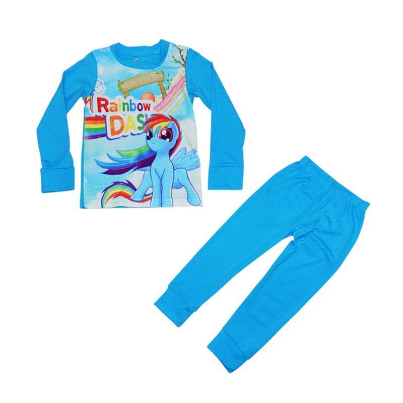 Wonderland J2 Pajamas Anak Rainbow Dash