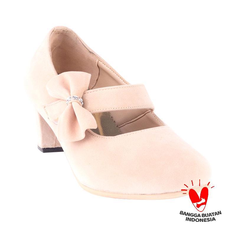 Blackkelly Chavalie LKZ 147 Sepatu Heels - Krem