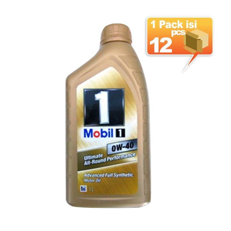Paket Karton - Mobil 1 0W-40 Botol