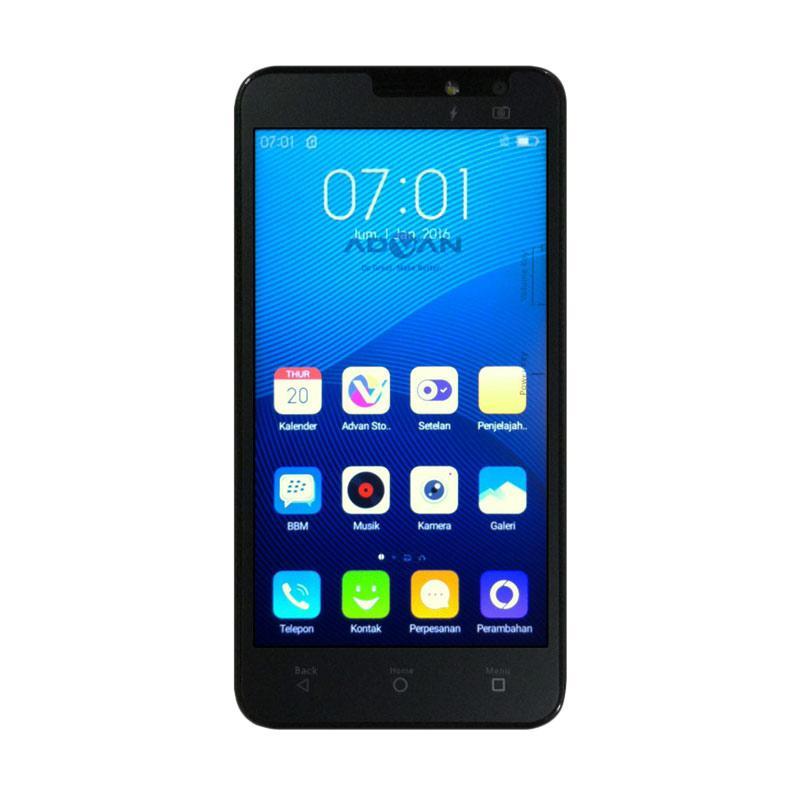 Advan Vandroid S5E NXT Smartphone - Hitam [8 GB]