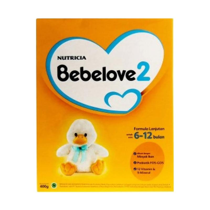 Bebelove 2 Bebenutri Susu Formula Bayi [400 g]