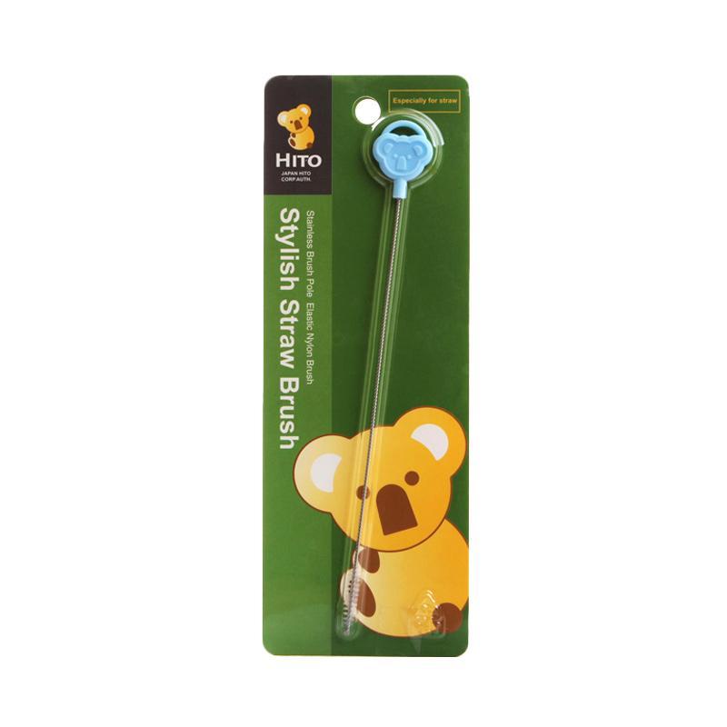 Hito Straw Brush Sikat Sedotan Bayi - Biru
