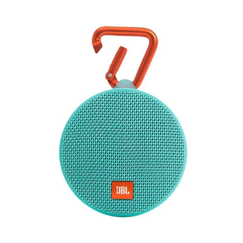 JBL Clip 2 Waterproof Bluetooth Speaker - Teal