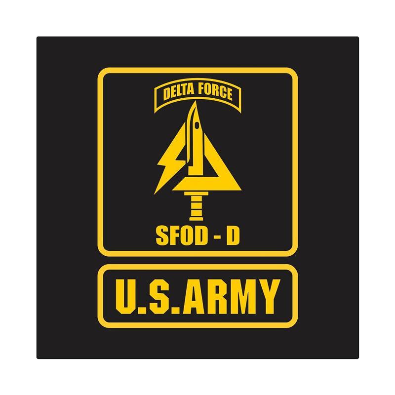 US Army Delta Force SFOD - D Cutting Sticker