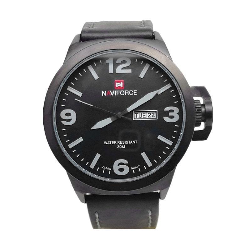 Naviforce NF9060MBLK Jam Tangan Pria - Hitam