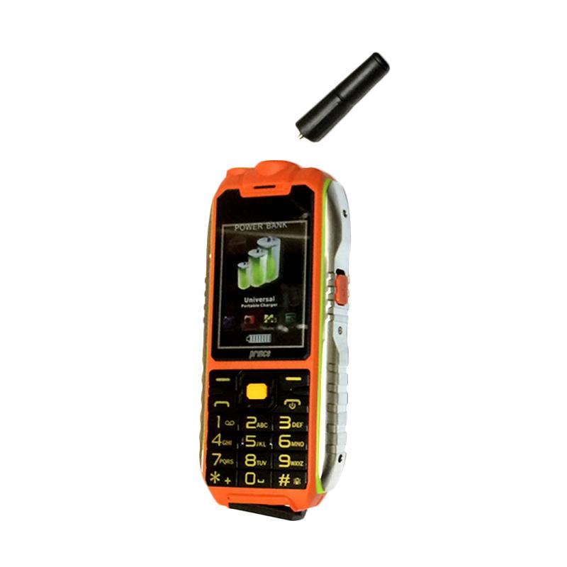 Prince PC-398 Powerbank Handphone - Orange [10.000 mAh]