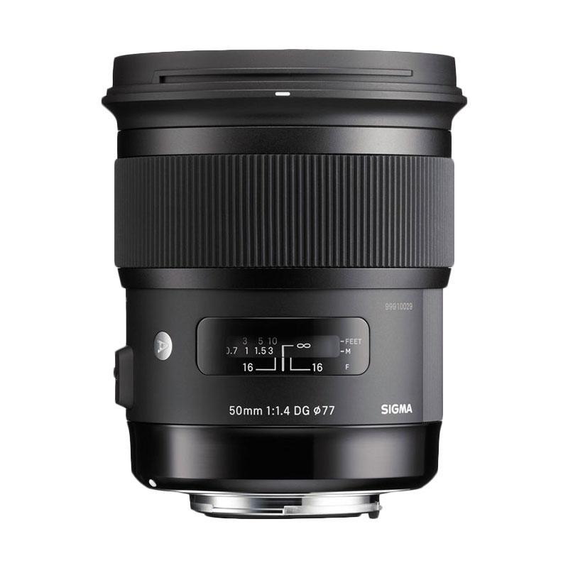 Sigma Lens 50mm f/1.4 DG HSM (A) u/ Nikon
