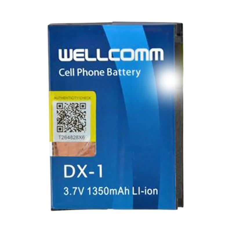 Welcomm DX-1 Baterai for BlackBerry - Biru