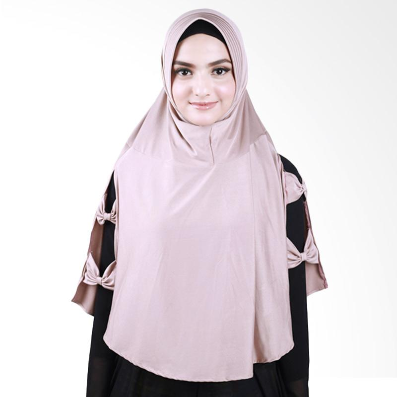 harga Atteenahijab Alisa Najwa Kerudung - Coklat Susu Blibli.com