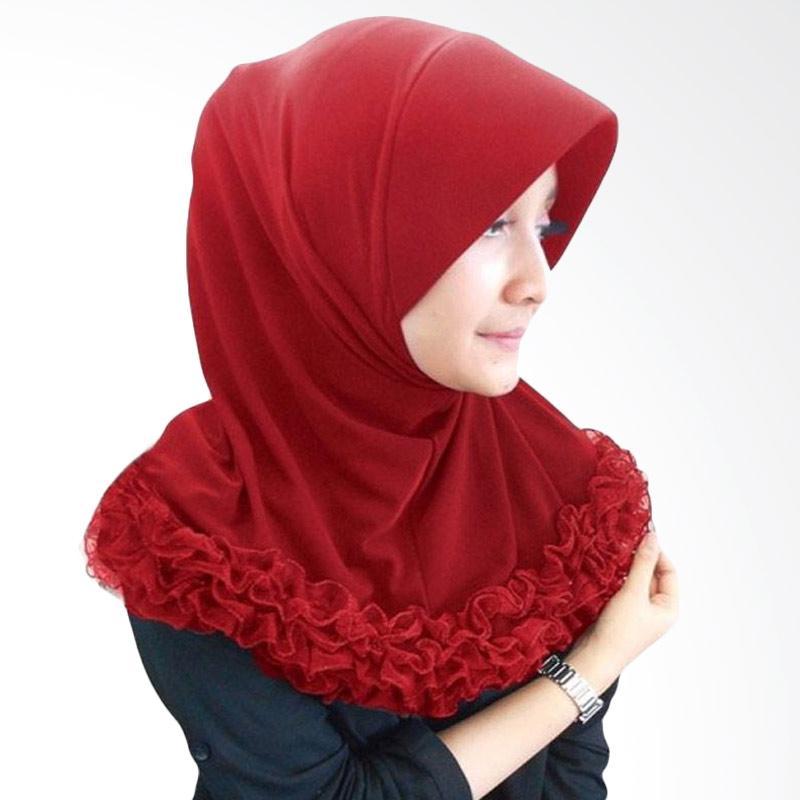 Kus_group Gotik Pendek Hijab - Maroon