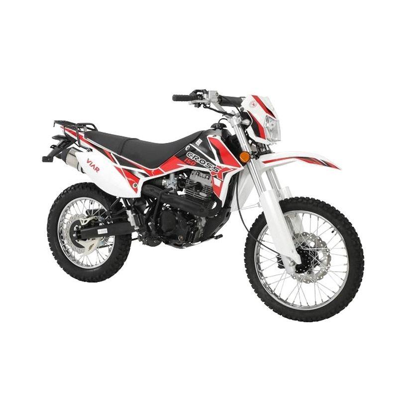 harga Viar New Cross X 150 Sepeda Motor - Merah [Jatim] Blibli.com