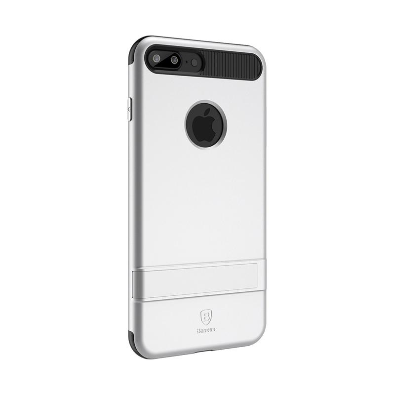Baseus iBracket Casing for iPhone 7 Plus - Silver