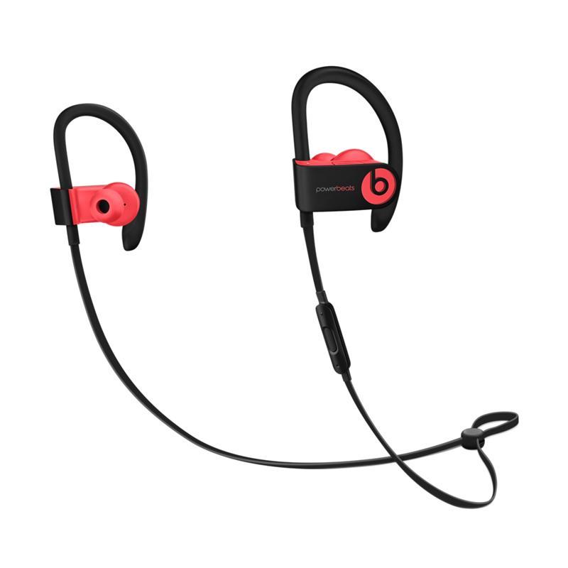Power Beats 3 Sport Bluetooth Headset - Red
