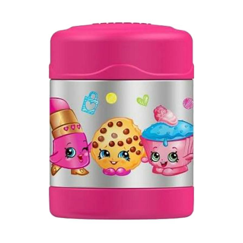 harga Thermos Funtainer Shopkins Food Jar - Pink Blibli.com