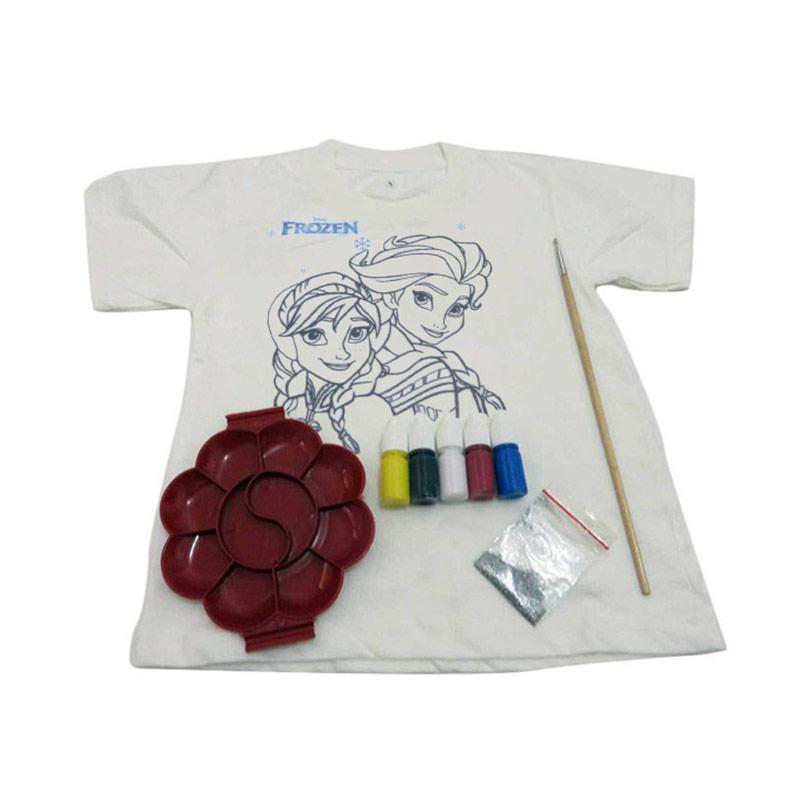 Jual Kaos Djuren Frozen Mewarnai Kaos Mainan Edukasi Online Harga