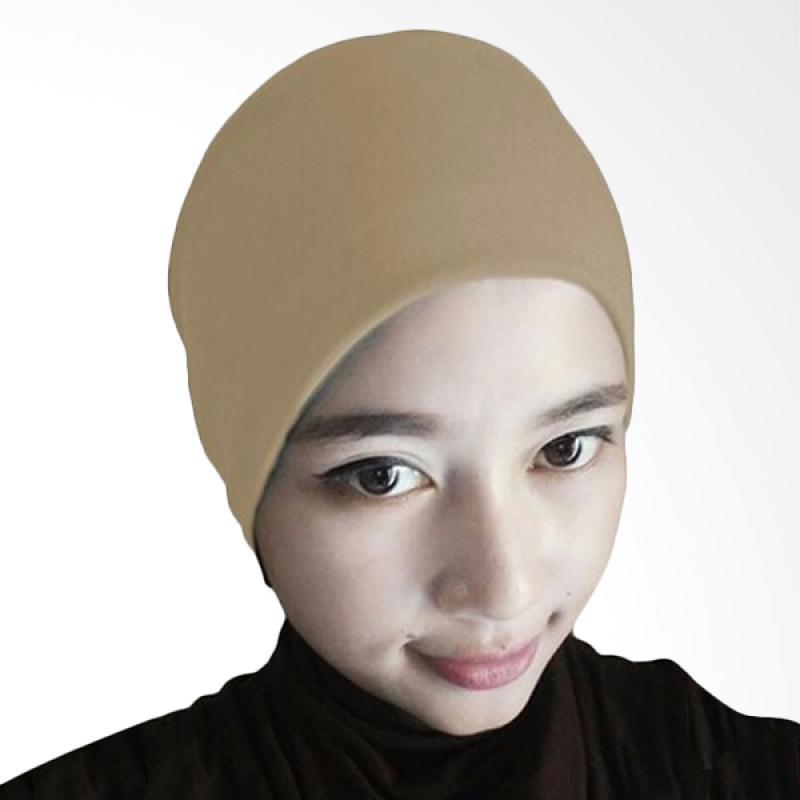 Milyarda Hijab Arab Ciput - Coklat Muda