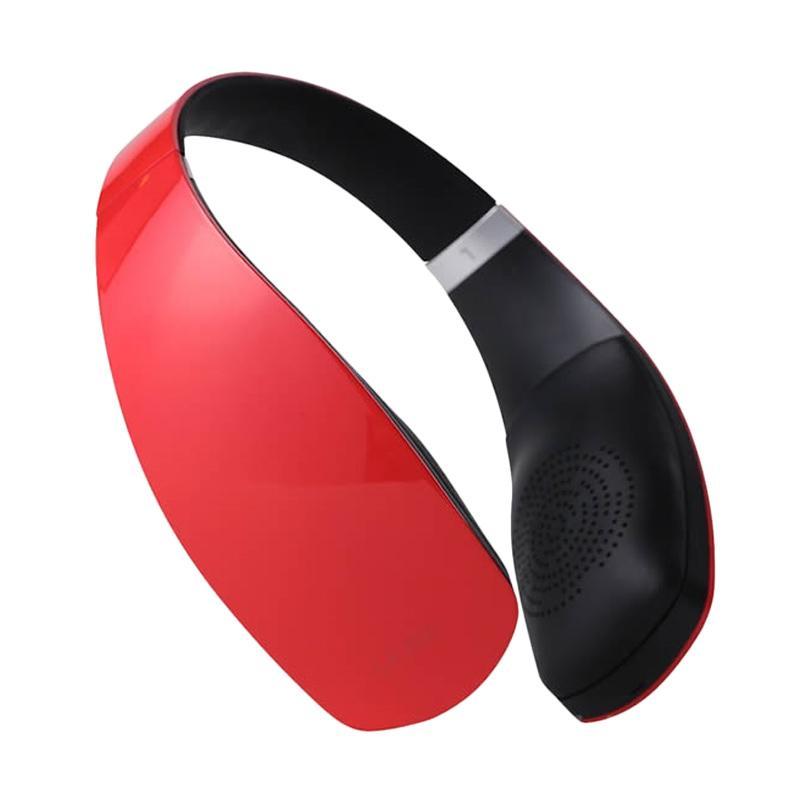 harga LeTV Leme 2nd Gen Eb30 Bluetooth Headset - Red Blibli.com