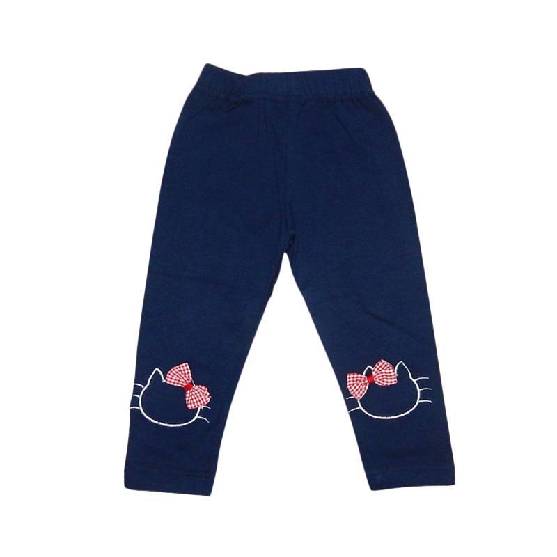 Wonderland Lil Rose Legging Cat Navy