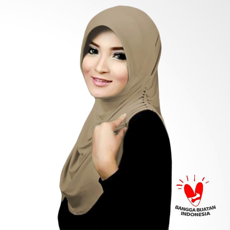 Milyarda Hijab Instant Rumana - Cream