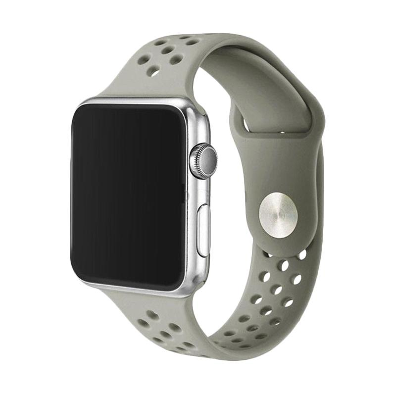 Nike Sports Band for Apple Watch 38mm - Grey [OEM]