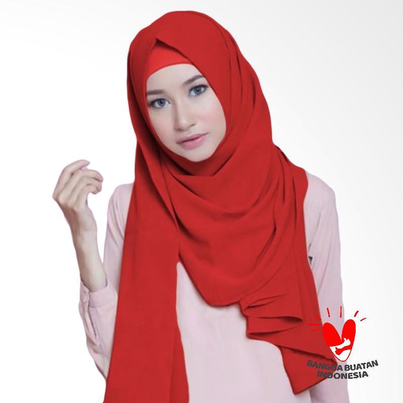 Milyarda Hijab Diamond Pashmina - Merah